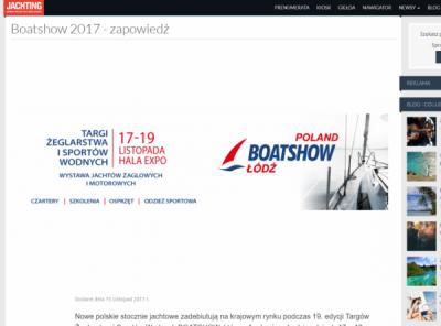 White Eagle - Targi Boatshow - Jachting