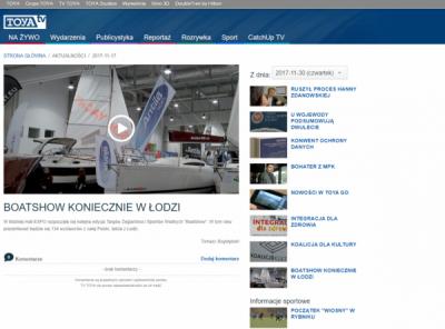 White Eagle - Targi Boatshow - TV Toya