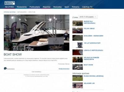 łodzie White Eagle na Boatshow Łódź
