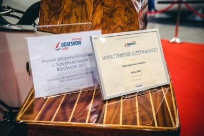Łodzie motorowe - Targi Boatshow - White Eagle
