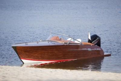 Łódź, jacht - testy na wodzie - White Eagle