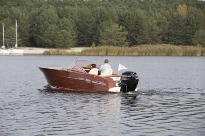 Łodzie motorowe - testy na wodzie - White Eagle