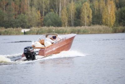 Testy na wodzie - jacht motorowy - White Eagle